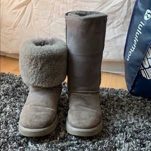Ugg boots, tall, size 7